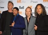 James Hetfield Photo - 09 September 2013 - Toronto Ontario Canada - James Hetfield Robert Trujillo Lars Ulrich Kirk Hammett Metallica Through The Never Premiere - 2013 Toronto International Film Festival Photo Credit Brent PerniacAdMedia