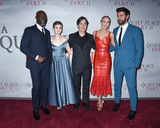 Emily Blunt Photo - 08 March 2020 - New York New York - Djimon Hounsou Millicent Simmonds Cillian Murphy Emily Blunt and John Krasinski at the World Premiere of A QUIET PLACE PART II in the Rose Theater at Jazz at Lincoln Center Frederick P Rose Hall Photo Credit LJ FotosAdMedia