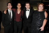 Samuel Larsen Photo - 22 May 2012 - Beverly Hills California - Robert Ulrich Samuel Larsen Damian McGinty Hannah Mclalwain Glee Project Alliance For Women In Media Foundations 37th Annual Gracie Awards Gala held at the Beverly Hilton Hotel Photo Credit Byron PurvisAdMedia