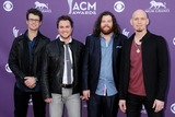 Chris Thompson Photo - 7 April 2013 - Las Vegas California - Chris Thompson Mike Eli James Young Jon Jones Eli Young Band 48th Annual Academy of Country Music Awards - Arrivals held at the MGM Grand Garden Arena Photo Credit Byron PurvisAdMedia