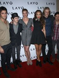 Kennedy Photo - 03 December 2011 - Las Vegas Nevada - Joashua Bowman Connor PaoloEmily VanCamp Ashley Madekwe Gabriel Mann Nick Wechsler Jason Kennedy from E and Ashley Madekwe from Revenge celebrate their birthdays at Lavo inside The Palazzo Las Vegas  Photo Credit MJTAdMedia