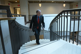 Alabama Photo - United States Senator Doug Jones (Democrat of Alabama) leaves a closed door briefing on election security in the Senate SCIF of the United States Capitol in Washington DC US on Tuesday March 10 2020  Credit Stefani Reynolds  CNPAdMedia
