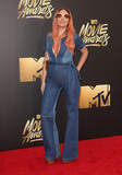 Andrea Whitt Photo - 09 April 2016 - Burbank California - Andrea Whitt 2016 MTV Movie Awards held at Warner Bros Studios Photo Credit SammiAdMedia