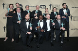 Nelson Franklin Photo - 21 January 2018 - Los Angeles California - Nelson Franklin Gary Cole Dan Bakkedahl Sarah Sutherland Clea DuVall Timothy Simons Paul Schee Sam Richardson Matt Walsh and Tony Hale of Veep 24th Annual Screen Actors Guild Awards held at The Shrine Auditorium Photo Credit RetnaAdMedia