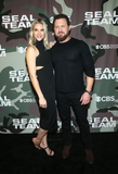 AJ Buckley Photo - 25  February 2020 - Hollywood California - Abigail Ochse and AJ Buckley SEAL Team TV show premiere held at ArcLight Cinemas Photo Credit FSAdMedia