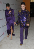 Prince Photo - 27 February 2011 - West Hollywood California - Prince and guest 19th Annual Elton John AIDS Foundation Academy Awards Viewing Party held at The Pacific Design Center Photo Credit Faye SadouAdMedia Photo Faye SadouAdMedia