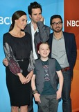 Al Madrigal Photo - 19 January 2014 - Pasadena California - Minnie Driver David Walton Benjamin Stockham and Al Madrigal About A Boy NBCUniversal 2014 Winter Press Tour held at the Langham Huntington Hotel Photo Credit Christine ChewAdMedia