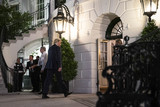 Eagles Photo - United States President Donald J Trump walks into the South Portico of the White House in Washington DC US on Wednesday July 29 2020 President Trump traveled to Texas to tour the Double Eagle Energy Oil Rig     Credit Sarah Silbiger  Pool via CNPAdMedia