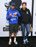 Helen Lasichanh Photo - 03 June 2019 - Los Angeles California - Pharrell Williams Helen Lasichanh Netflixs The Black Godfather Los Angeles Premiere held at Paramount Theater Photo Credit Birdie ThompsonAdMedia