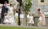 Prince George Photo - 20 May 2017 - James Matthews and Pippa Middleton with Kate Duchess of Cambridge and Prince George of Cambridge at the wedding of James Matthews and Pippa Middleton at St Marks Church Englefield Berkshire UK Photo Credit ALPRAdMedia