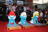 Papa Smurf Photo - 13 December 2011 - Hollywood California - Papa Smurf Clumsy Smurf and Smurfette The Smurfs Hand and Footprint Ceremony held at Graumans Chinese Theatre Photo Credit Byron PurvisAdMedia