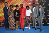 Amine Photo - 8 July 2019 - Los Angeles California - Michael Hyatt Angela Lewis Amin Joseph Isaiah John Damson Idris Carter Hudson The Premiere Of FXs Snowfall Season 3 held at Bovard Auditorium At USC Photo Credit Faye SadouAdMedia