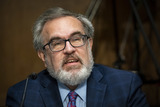 Andrew Wheeler Photo - Andrew Wheeler Administrator United States Environmental Protection Agency (EPA) speaks during a Senate Environment and Public Works Committee hearing on Capitol Hill in Washington DC US on Wednesday May 20 2020 Credit Al Drago  Pool via CNPAdMedia
