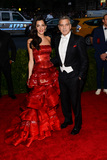 Amal Clooney Photo - 04 May 2015 - New York New York- George Clooney Amal Clooney China Through The Looking Glass Costume Institute Gala at The Metropolitan Museum of Art Photo Credit Christopher SmithAdMedia