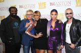 Eva Marie Photo - 2  April 2019 - West Hollywood California - Ricky Williams Kato Kaelin Tamar Braxton Natalie Eva Marie Joey Lawrence WE tv Celebrates The Premiere Of Braxton Family Values  held at Doheny Room Photo Credit Faye SadouAdMedia