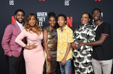 Ethan Herisse Photo - 11 August 2019 - Los Angeles California - Jharrel Jerome Niecy Nash Marsha Stephanie Blake Asante Blackk Aunjanue Ellis Ethan Herisse When They See Us for your consideration Los Angeles 2019 - Day 1 held at Paramount Theatre Photo Credit FSadouAdMedia
