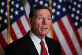 Supremes Photo - Senator John Barrasso R-WY speaks during a press conference after President Trumps Supreme Court nominee Judge Amy Coney Barrett was confirmed by the Senate as the 115th justice to the Supreme Court on Capitol Hill Monday October 26th 2020AdMedia