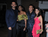 Amir Arison Photo - 13 May 2019 - New York New York - Amir Arison guest Aasif Mandvi and guest at the Entertainment Weekly  People New York Upfronts Celebration at Union Park in Flat Iron Photo Credit LJ FotosAdMedia