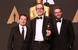 John Gilbert Photo - 26 February 2017 - Hollywood California - Michael J Fox John Gilbert Seth Rogen 89th Annual Academy Awards presented by the Academy of Motion Picture Arts and Sciences held at Hollywood  Highland Center Photo Credit Theresa ShirriffAdMedia