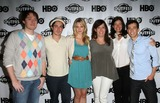 April Bowlby Photo - 17 July 2011 - West Hollywood California - Clay Aiken  Ben Feldman and April Bowlby Kirsten Schaffer Jamie Babbit Josh Berman 2011 Outfest Film Festival Screening Of Drop Dead Diva  Held At The DGA Theatre Photo Credit Kevan BrooksAdMedia