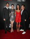 Adam DeVine Photo - 20 February 2018 - Hollywood California - Robbie Amell Alexandra Daddario Shelley Hennig Adam Devine Special Screening of Netflix When We First Met held at Arclight Hollywood Photo Credit F SadouAdMedia
