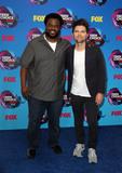 Adam Scott Photo - 13 August 2017 - Los Angeles California - Craig Robinson and Adam Scott Teen Choice Awards 2017 Arrivals held at The Galen Center in Los Angeles Photo Credit AdMedia