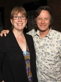 The Nitty Gritty Dirt Band Photo - July 26 2011 - Nashville TN - Nashville publicist Erit Morris and Jeff Hanna of the Nitty Gritty Dirt Band Artists musicians and songwriters came together at Mercy Lounge to help raise funds for Pete Huttlinger a widely respected guitarist and Nashville studio artist  Huttlinger has a congenital heart disease and is in need of a heart transplant Photo credit Dan HarrAdmedia