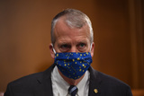alaska Photo - United States Senator Dan Sullivan (Republican of Alaska) attends a hearing titled Oversight of the Environmental Protection Agency before the US Senate Environment and Public Works Committee in the Dirksen Senate Office Building on Wednesday May 20 2020 in Washington DC EPA Administrator Andrew Wheeler will be asked about the rollback of regulations by the Environment Protection Agency since the pandemic started in March  Credit Kevin Dietsch  Pool via CNPAdMedia