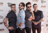 Jack Barakat Photo - 18 July 2016 - Columbus Ohio - Rian Dawson Alex Gaskarth Jack Barakat and Zack Merrick of the band ALL TIME LOW attend the Alternative Press Music Awards 2016 held at Jerome Schottenstein Center Photo Credit Jason L NelsonAdMedia