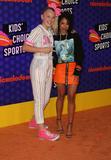 JoJo Siwa Photo - 19 July 2018 - Santa Monica California - Jojo Siwa Liza Koshy Nickelodeon Kids Choice Sports Awards 2018 held at Barker Hangar Photo Credit Faye SadouAdMedia