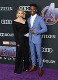 Aubrey Joseph Photo - 22 April 2019 - Los Angeles California - Olivia Holt Aubrey Joseph Marvel Studios Avengers Endgame Los Angeles Premiere held at Los Angeles Convention Center Photo Credit Birdie ThompsonAdMedia