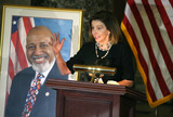 Alcee Hastings Photo - Speaker of the United States House of Representatives Nancy Pelosi (Democrat of California) delivers remarks during a ceremony honoring the late US Representative Alcee Hastings (Democrat of Florida) in Statuary Hall at the US Capitol in Washington DC on Wednesday April 21 2021 Rep Hastings the longest-serving member of the Florida congressional delegation died at the age of 84 after a battle with pancreatic cancer Credit Tasos Katopodis  Pool via CNPAdMedia