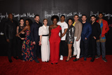 Jacke Photo - 08 February 2020 - Hollywood California - (L-R) Billy Brown Aja Naomi King Charlie Weber Liza Weil Viola Davis Pete Nowalk Alfred Enoch Amirah Vann Conrad Ricamora  Matt McGorry Jack Falahee and Alfred Enoch How to Get Away with Murder Series Finale at Yamashiro Photo Credit Billy BennightAdMedia