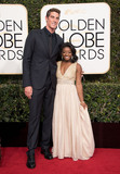 Conor Dwyer Photo - 08 January 2016 - Beverly Hills California - Conor Dwyer and Simone Biles74th Annual Golden Globe Awards held at the Beverly Hilton Photo Credit HFPAAdMedia