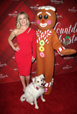 Alison Sweeney Photo - 04 December 2017 - Los Angeles California - Alison Sweeney Happy the Dog Gingerbread man figure Hallmark Channel Screening of Christmas at Holly Lodge held at The Grove Photo Credit F SadouAdMedia