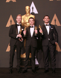Justin Paul Photo - 26 February 2017 - Hollywood California - Justin Hurwitz Benj Pasek Justin Paul 89th Annual Academy Awards presented by the Academy of Motion Picture Arts and Sciences held at Hollywood  Highland Center Photo Credit Theresa ShirriffAdMedia
