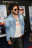 Lenny Kravitz Photo - 29 March 2016 - Beverly Hills California - Lenny Kravitz and Lori Petty Premiere of Sony Pictures Classics Miles Ahead held at the Writers Guild Theater Photo Credit AdMedia