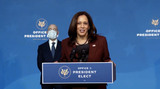 Foreigner Photo - United States Vice President-elect Kamala Harris makes remarks as US President-elect Joe Biden announces his nominees to Key Foreign Policy and National Security Posts in Wilmington Delaware on Tuesday November 24 2020Credit Biden  Transition via CNPAdMedia