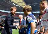Wembley Stadium Photo - 24 August 2019 - Prince Harry Duke Of Sussex at Rugby League Challenge Cup Final Between St Helens V Warrington Wolves Wembley Stadium London Photo Credit ALPRAdMedia