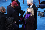 Bill Clinton Photo - WASHINGTON DC - JANUARY 20 Former US President Bill Clinton arrives with former Secretary of State Hillary Clinton to the inauguration of US President-elect Joe Biden on the West Front of the US Capitol on January 20 2021 in Washington DC  During todays inauguration ceremony Joe Biden becomes the 46th president of the United States (Photo by Tasos KatopodisGetty Images)AdMedia