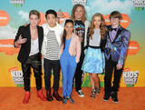 Aidan Miner Photo - 12 March 2016 - Inglewood California - Ricardo Hurtado Lance Lim Breanna Yde Tony Cavalero Jade Pettyjohn Aidan Miner 2016 Nickelodeon Kids Choice Awards held at The Forum Photo Credit Byron PurvisAdMedia