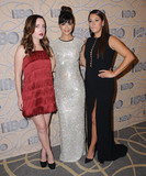 Angelique Cabral Photo - 08 January 2017 - Beverly Hills California - Zoe Lister Jones Hannah Simone Angelique Cabral HBOs Official 2017 Golden Globe Awards After Party held at the Beverly Hilton Hotel Photo Credit Birdie ThompsonAdMedia
