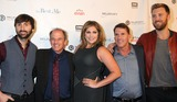 Nicholas Sparks Photo - 09 October 2014 - Nashville Tennessee - Charles Kelley Dave Haywood Hillary Scott Lady Antebellum Nicholas Sparks Michael Hoffman The Best of Me Nashville VIP Screening held at the Country Music Hall of Fame CMA Theater Photo Credit Dara-Michelle FarrAdMedia