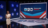 Eva Longoria Photo - In this image from the Democratic National Convention video feed American actress Eva Longoria opens the first night of the convention on Monday August 17 2020Credit Democratic National Convention via CNPAdMedia