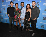CAS ANVAR Photo - 22 July 2019 - San Diego California - (L-R) Steven Strait Dominique Tipper Cas Anvar Shohreh Aghdashloo Wes Chatham  Entertainment Weekly Comic-Con Bash held at FLOAT at the Hard Rock Hotel in celebration of Comic-Con 2019 Photo by Billy BennightAdMedia