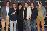 Jameela Jamil Photo - 13 September 2019 - Beverly Hills California - (L-R) Dan Newmark Joe Gatto Jameela Jamil Brian Quinn Ben Newmark and Andy Breckman The Misery Index at The Paley Center For Medias 13th Annual PaleyFest Fall TV Previews - TBS Photo Credit Billy BennightAdMedia
