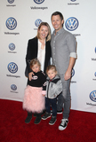 Austin Butler Photo - 30 November 2018 - Los Angeles California - Beverley Mitchell Michael Cameron Hutton Michael Cameron Kenzie Cameron Vanessa Hudgens And Austin Butler Celebrate Volkswagens Annual Drive-In Event held at The Goya Studios Photo Credit Faye SadouAdMedia