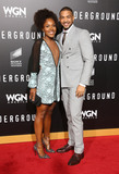 Alano Miller Photo - 28 February 2017 - Westwood California - DeWanda Wise Alano Miller WGN Americas Underground Season 2 Premiereheld at Westwood Village Photo Credit AdMedia