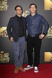 Andy Samberg Photo - Andy Samberg Jorma Tacconeat the 2016 MTV Movie Awards Warner Bros Studios Burbank CA 04-09-16