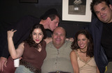 Angela Pupello Photo - James McBride Angela Pupello Robert Costanzo Charlene Amola and Mel Rodriguez at the afterparty for the opening of the play West Of Brooklyn  Space Theater Los Angeles 07-06-02